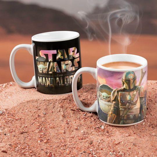 Mando-with-child---heat-change-mug