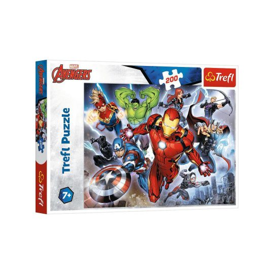 Puzzle 200 pieces - Mighty Avengers