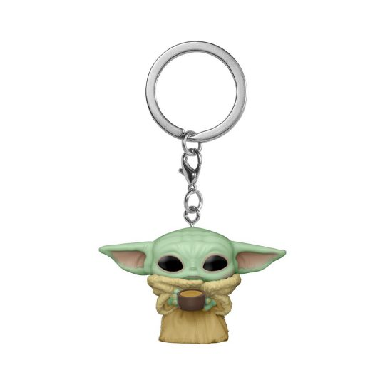 Keychain Child with Cup