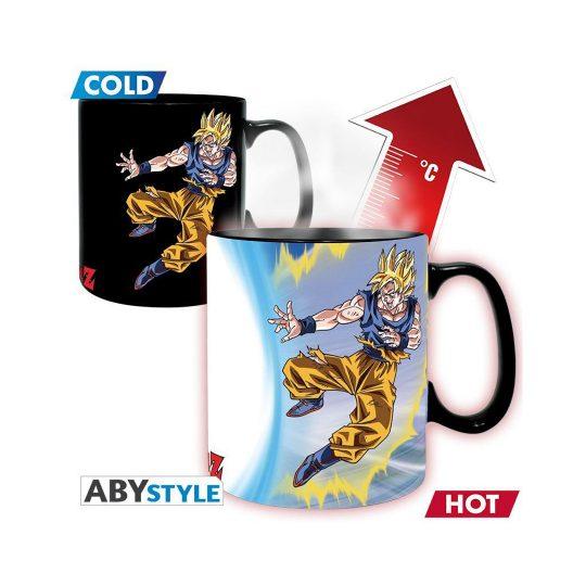 Goku-VS-Buu-Heat-Change-Mug