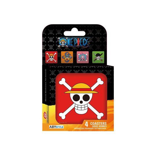 One-Piece_coaster-set