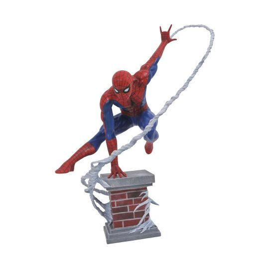 SpiderMan-Statue